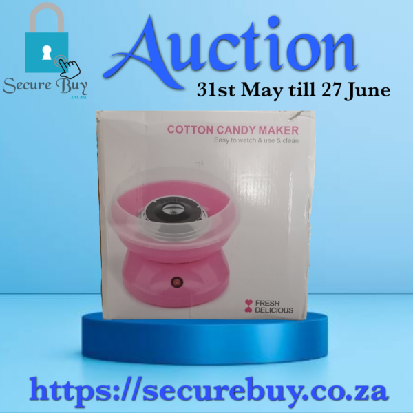 Cotton Candy Maker 2 + Goodie box